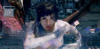 Kadr z filmu Ghost in the shell