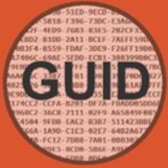 Grafika ze słowem GUID