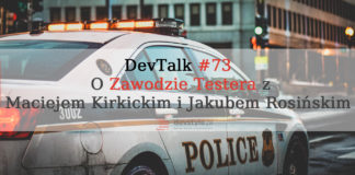 Plansza tytułowa DevTalk #73