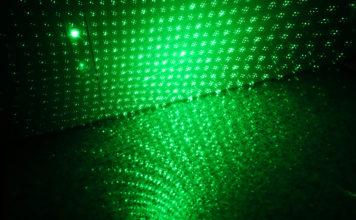 Rozszczepiona wiązka promienia lasera