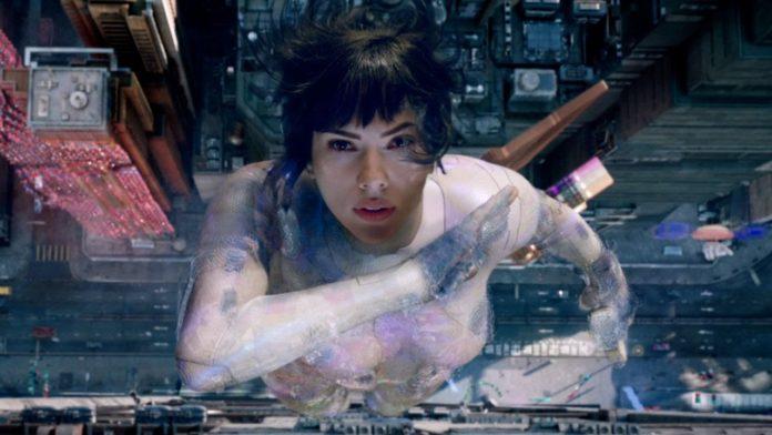 Kadr z filmu Ghost in the shell