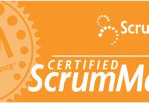 Plakietka Certified Scrum Master