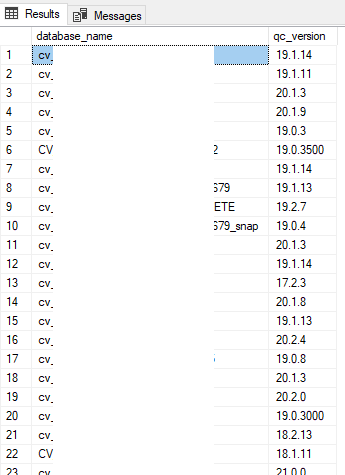 Multiple results from sp_MSForEachDb in one table